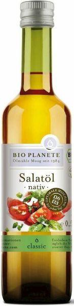 Obrazek BioPlanet Olej sałatkowy Bio 500ml