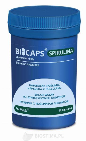 Obrazek Formeds Bicaps Spirulina 60 kaps.